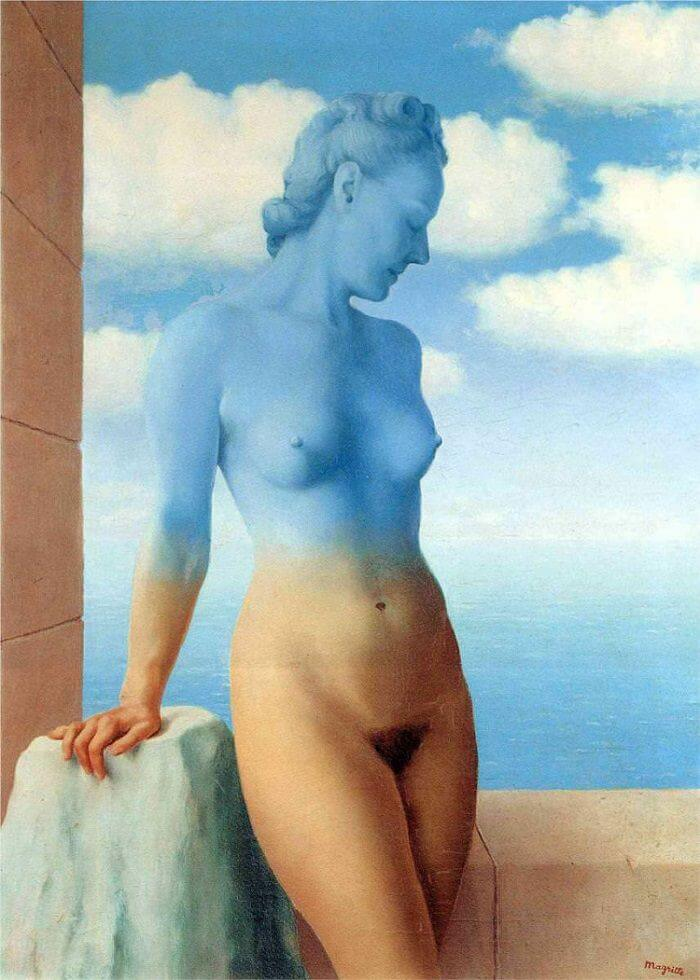 Black Magic, 1945 by Rene Magritte