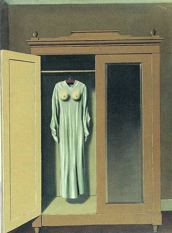Homage to Mack Sennett, 1934 by Rene Magritte