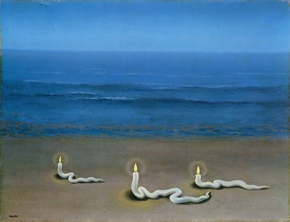 Préférence Meditation, 1937 by Rene Magritte VV66