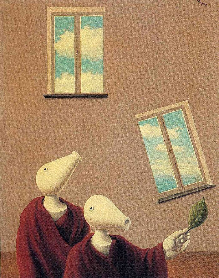 Natural Encounters, 1945 by Rene Magritte