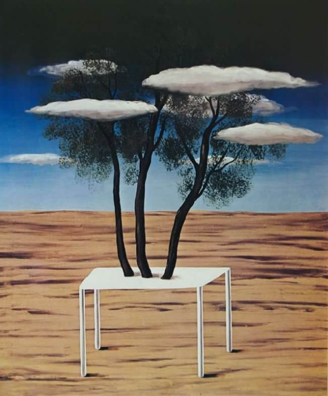 Oasis, 1925 by Rene Magritte