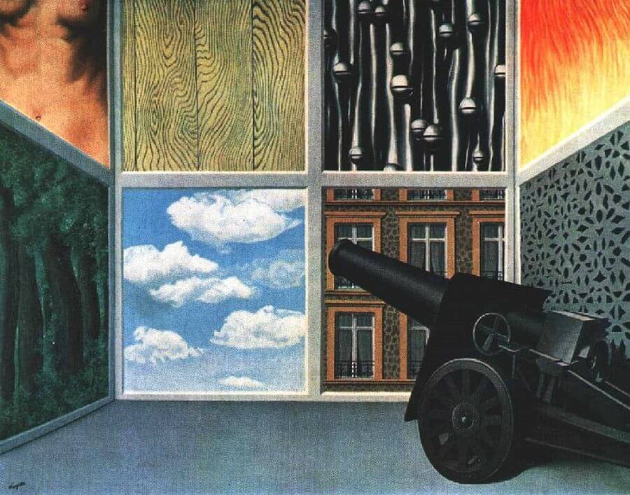 On the threshold of liberty 1937 by rene magritte