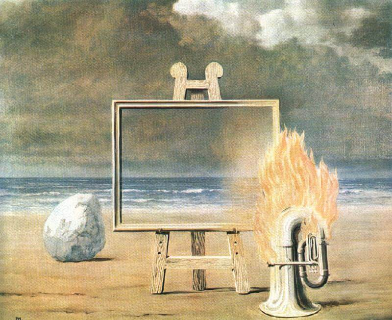 The Fair Captive, 1947 by Rene Magritte