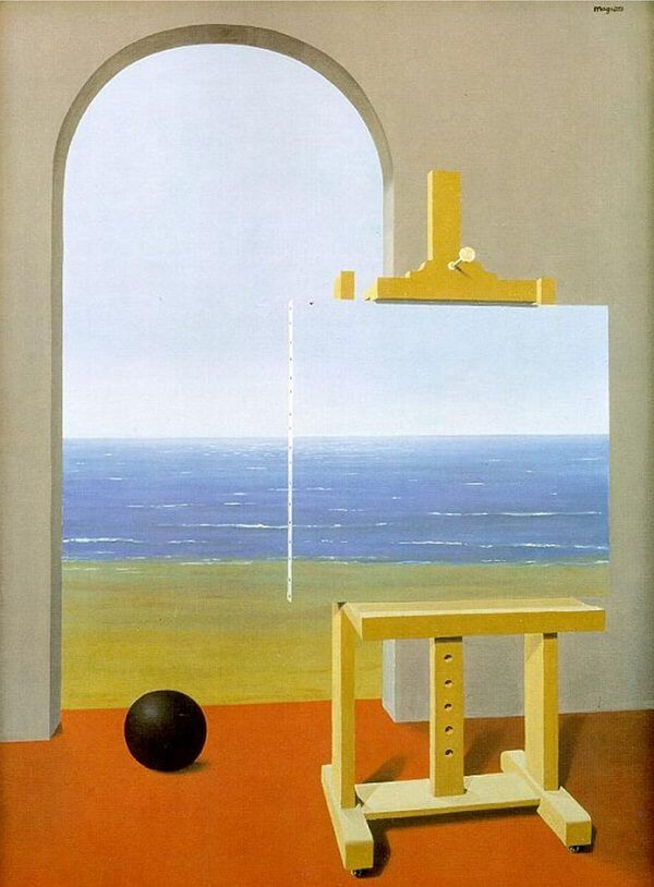 The Human Condition II, 1935 by Rene Magritte