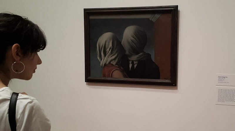 Photo of The Lovers 2 by Rene Magritte
